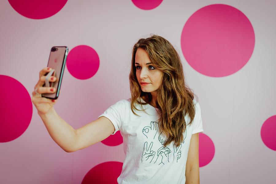 Selfie im Punkteraum